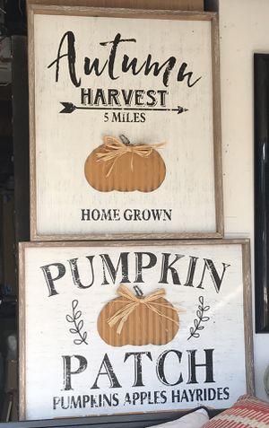 Wall Decor Pumpkin for Sale in San Francisco, CA