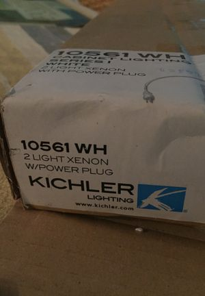 10561 WH Cabinet Ligthing series 1 by Kichler for Sale in San Diego, CA