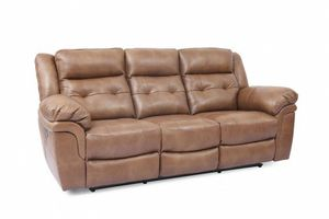 New Leather Couch(Glenn 2 Power Reclining) for Sale in Forest Falls, CA