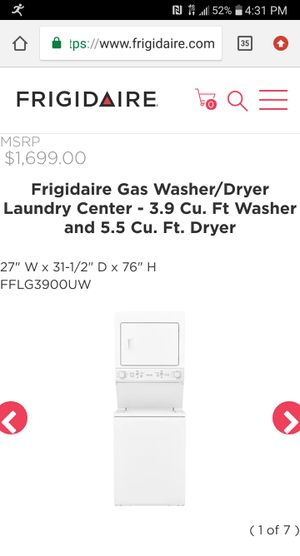 New Washer/Dryer for Sale in Fontana, CA