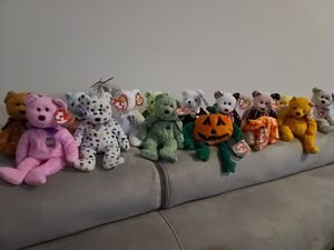 TY Beanie Baby Lot of 14 Bears for Sale in Stafford, VA