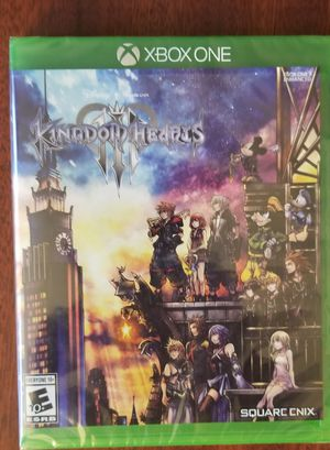 Kingdom Hearts 3 XBox One for Sale in Bartlett, IL