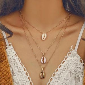 Gold Multi Layer Shell Chain Necklace for Sale in Carrollton, TX