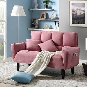 NEW PINK SOFA SLEEPER for Sale in Brea, CA