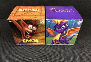 Spyro and crash Collectable Block figure bundle for Sale in Bellflower, CA