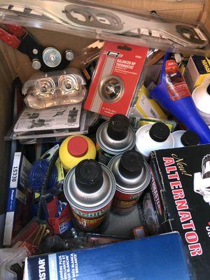 Tools, Chevy parts , motor parts , liquids for Sale in El Monte, CA
