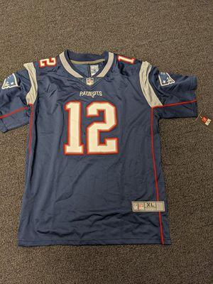 Tom brady Patriots Jersey XL for Sale in Arlington, TX