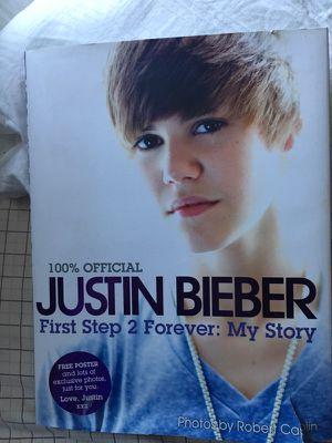 Justin Bieber Book for Sale in Delaware, OH