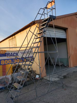 Rolling Ladder,Warehouse ladder for Sale in Ontario, CA