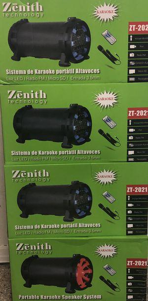 Zenith speakers karaoke for Sale in St. Pete Beach, FL