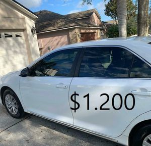 🎁$1.20O🎁Runs and drives excellent Clean title🎁 2013 Toyota Camry 🎁is 𝓿𝓮𝓻𝔂 𝓬𝓵𝓮𝓪𝓷 inside and out everything works🎁 for Sale in Los Angeles, CA