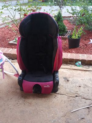 Minnie mouse swing and hot pink car seat for Sale in Greenville, SC