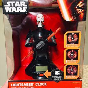 Star War The Inquisitor Lightsaber Clock for Sale in Arlington, VA