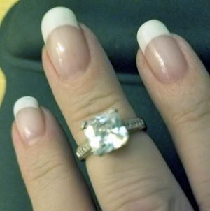 Sterling Silver Engagement Ring for Sale in Knoxville, TN