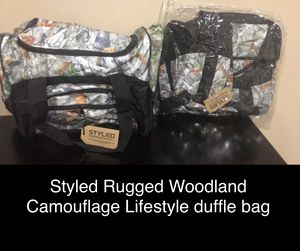 2- Camo Duffle Bag(s) for Sale in Bedford, OH