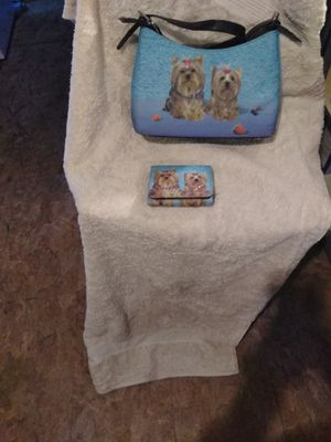Yorkie Pocket book and Wallet for Sale in Swainsboro, GA