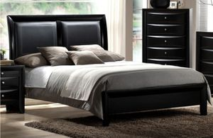 Bedroom Set . . Bed, 2Night Stands, Dresser and Mirror FREE DELIVERY for Sale in Las Vegas, NV