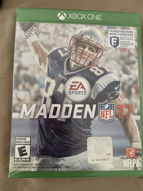 "MADDEN NFL ""17"" Video Game (Xbox One)"