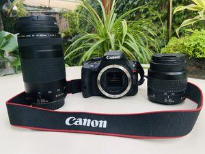 Cannon EOS Rebel sl1 + camera bag for Sale in Los Angeles, CA