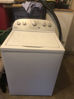 Whirlpool washer & dryer for Sale in Duncanville, TX