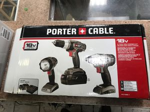 Porter Cable power tools for Sale in Detroit, MI