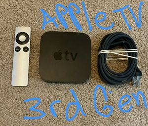 Apple tv 3rd generation for Sale in North Highlands, CA