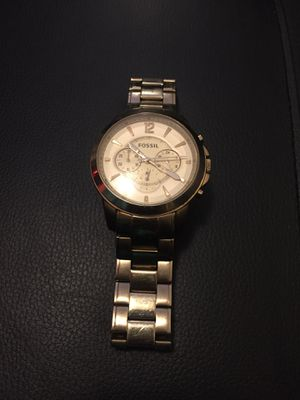 Gold Fossil Grant Watch for Sale in Columbus, OH