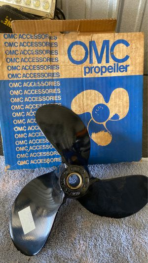 Boat prop Omc propeller new in box for Sale in Selma, TX