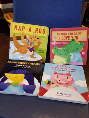 Set Of 4 Children's Board Books by KPO Creative LLC for Sale in Lexington, SC