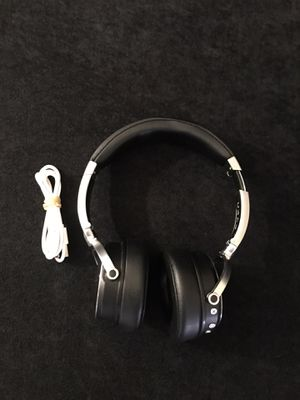 Parrot Zik Wireless Noise Cancelling Headphones with Touch Control - Black for Sale in Mesa, AZ