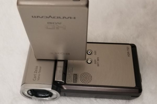 Sony 1080 HD video camcorder HDR-TG1, good condition