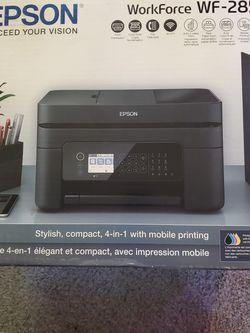 Almost New Epson Workforce WF-2850 Printer for Sale in Mukilteo,  WA