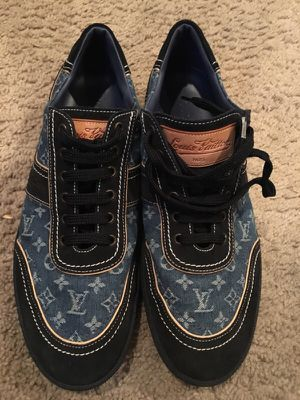 Louis Vuitton Denim Low Tops for Sale in Alexandria, VA