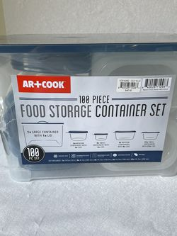 50 Piece Plastic Storage Container Set (BRAND NEW) for Sale in Long Beach,  CA