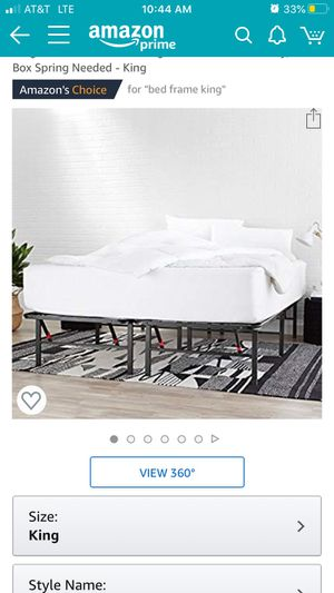 King bed frame for Sale in Clarkston, MI