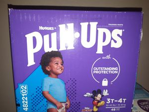 Huggies size 3/4t boys pullups for Sale in Portland, OR
