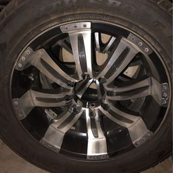 "(4) 20"" - 8 Lug Rims from a Chevy 3500 Van. for Sale in Tracy,  CA"