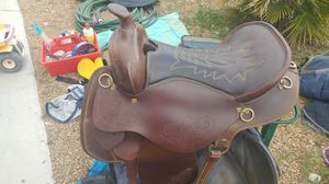 Super beautiful and comfortable western saddle for Sale in Las Vegas, NV