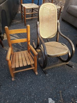 2 older kids rocking chairs. Make offer for Sale in Spartanburg, SC