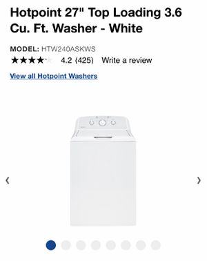 Hotpoint washer and dryer for Sale in Mount Laurel Township, NJ