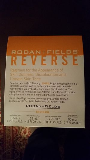 Rodan+Fields REVERSE skin regimen for Sale in Arlington, VA