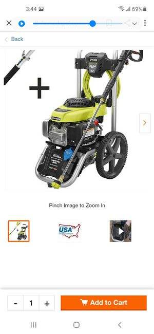 Ryobi 3000 psi pressure washer machine for Sale in Queens, NY