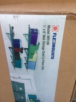 Wall mount storage shelves for Sale in Smithfield, NC