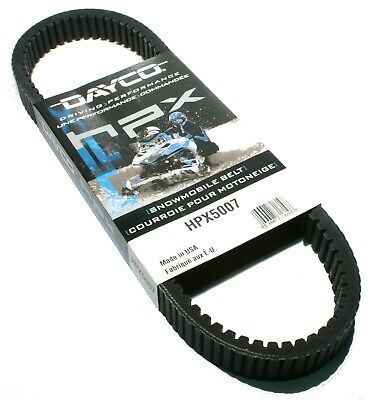 Dayco HPX5007 snowmobile belt