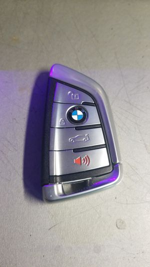 OEM Silver SMART KEY FOB 4 BUTTON for BMW X5 X6 3&5 SERIES 2014-2019 for Sale in Las Vegas, NV