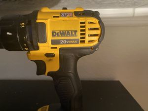 20v desalt powerdrill no battery included for Sale in West Palm Beach, FL