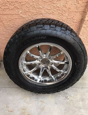 285/60/18 only 1 wheels and tire for Sale in Henderson, NV