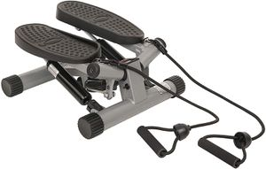 Mini Stepper Stair Stepper Exercise Equipment with Resistance Bands and Twisting Action for Sale in Beaumont, CA