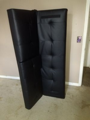 Leather futon for Sale in Columbus, OH