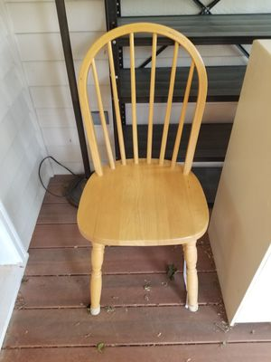Wood chair for Sale in Woodinville, WA